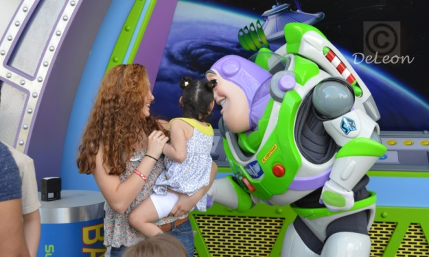 Getting to know Buzz Lightyear