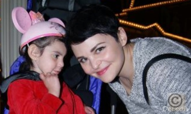 Ginnifer Goodwin and Sophie