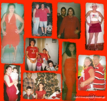 Through out the years. RED!