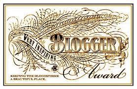 Very Insprining Blogger Award