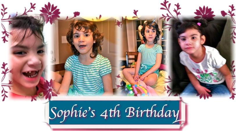 Sophie's 4th Birthday