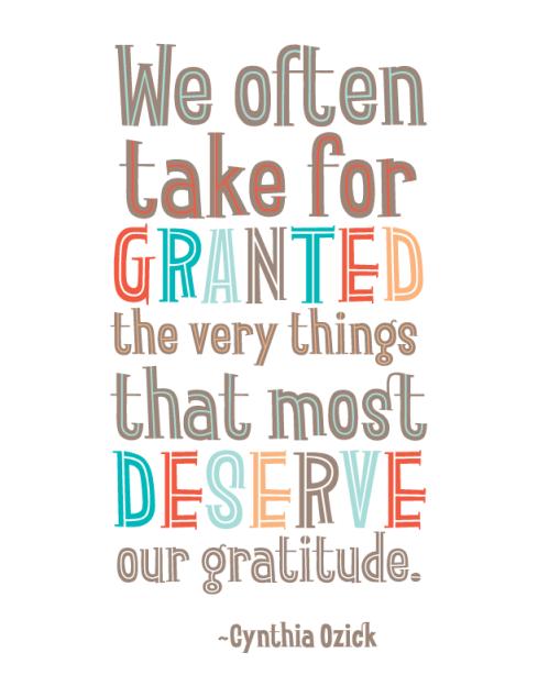 The ungrateful ones