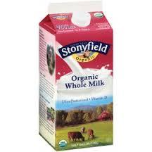 Stoneyfield Organic Whole milk